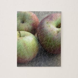 Manzanas maduras puzzle