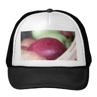 Manzanas orgánicas frescas gorros
