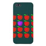 Manzanas para las camisetas y los productos de la  iPhone 5 coberturas