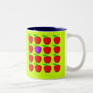 Manzanas para las camisetas y los productos de la  tazas