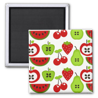 Manzanas, peras, cerezas, Watermelon.jpg Imán De Frigorifico