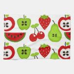 Manzanas, peras, cerezas, Watermelon.jpg Toallas De Cocina