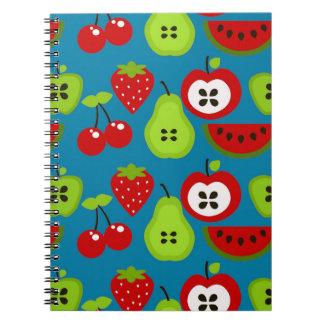 Manzanas, peras, fresas, Cherries.jpg Libro De Apuntes