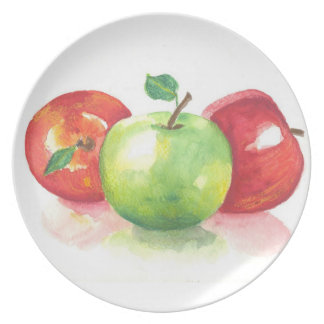 manzanas plato para fiesta