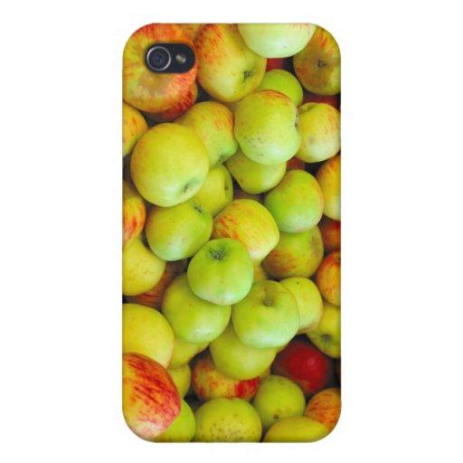Manzanas por el celemín iPhone 4 coberturas