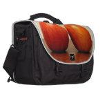 Manzanas rojas bolsas de portatil