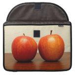 Manzanas rojas funda para macbooks