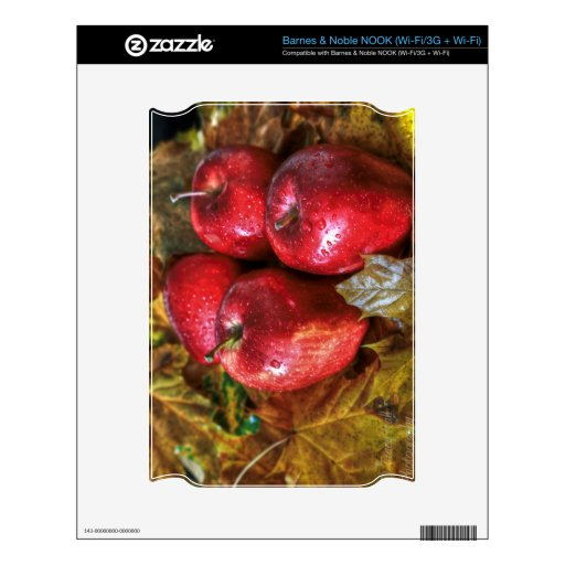 Manzanas rojas skins para elNOOK
