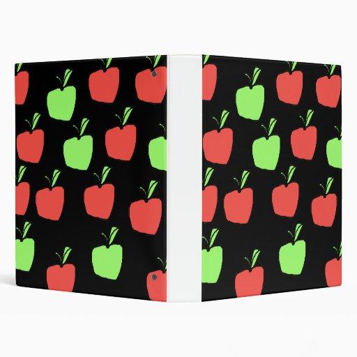 """Manzanas rojas y manzanas verdes, modelo carpeta 1"""""""