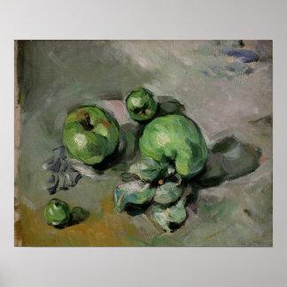 Manzanas verdes, c.1872-73 posters
