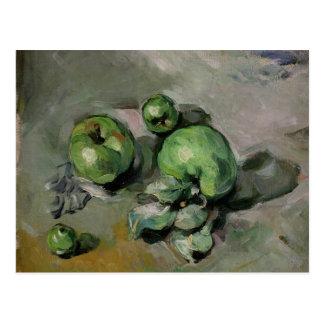Manzanas verdes, c.1872-73 tarjeta postal