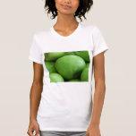 Manzanas verdes camisetas