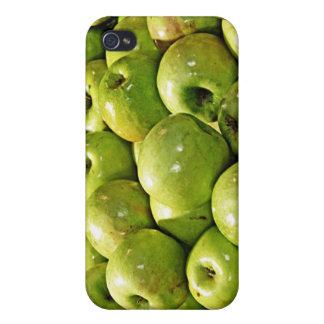 Manzanas verdes iPhone 4/4S carcasas