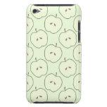 Manzanas verdes, modelo de la fruta iPod Case-Mate fundas