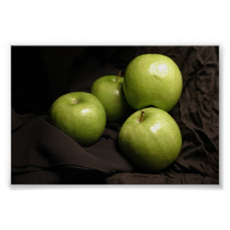Manzanas verdes también póster