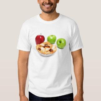 Manzanas y empanada de Apple para uno Camisas