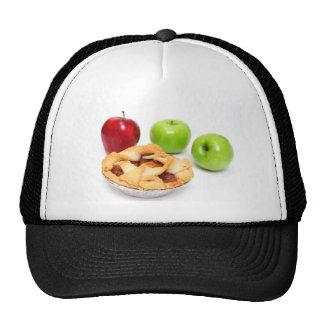 Manzanas y empanada de Apple para uno Gorras