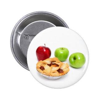 Manzanas y empanada de Apple para uno Pins