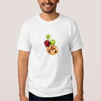 Manzanas y empanada de Apple para uno Playeras