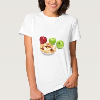 Manzanas y empanada de Apple para uno Poleras