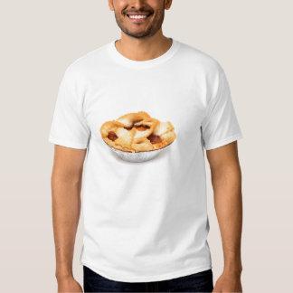 Manzanas y empanada de Apple para uno Remeras