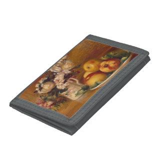 Manzanas y flores de Pedro-Auguste Renoir-