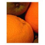 Manzanas y naranjas membrete