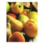 Manzanas y naranjas plantillas de membrete