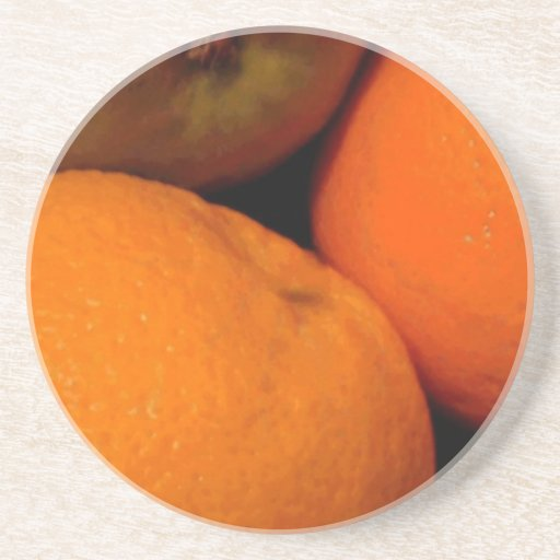 Manzanas y naranjas posavasos manualidades