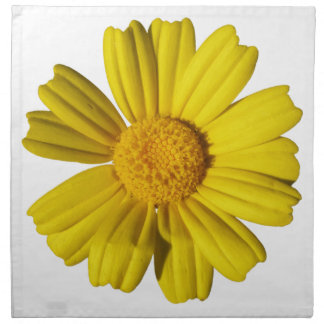 Manzanilla amarilla soleada servilletas imprimidas