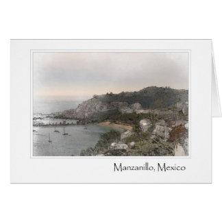 Manzanillo Mexico Card