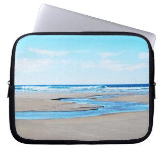Manzanita Beach - Coastline Computer Sleeve