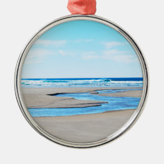 Manzanita Beach - Coastline Christmas Tree Ornament