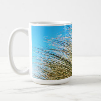 Manzanita Beach Grasses, Coastal Nature Coffee Mug