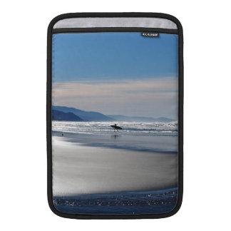 Manzanita Beach - Surfing in Oregon MacBook Air Sleeve
