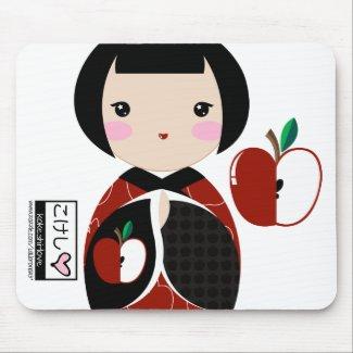 Manzanita Kokeshi Mouse Pad mousepad