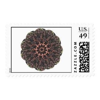 Manzanita Mandala postage stamp