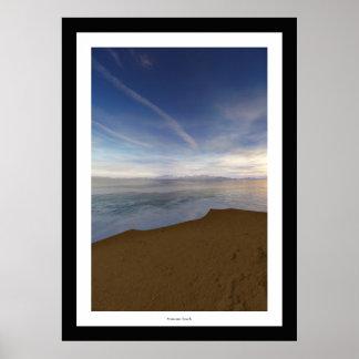 Manzano Beach Poster