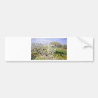 Manzano de Claude Monet Pegatina Para Auto