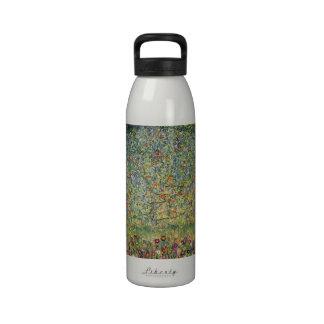 Manzano De Gustavo Klimt, arte Nouveau del vintage Botella De Beber