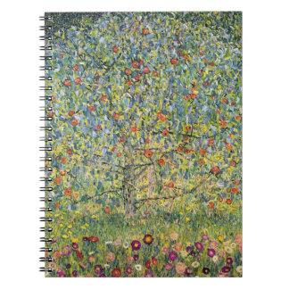 Manzano De Gustavo Klimt, arte Nouveau del vintage Libretas