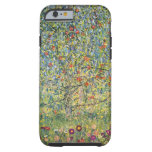 Manzano De Gustavo Klimt, arte Nouveau del vintage Funda De iPhone 6 Tough