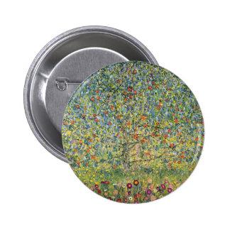 Manzano De Gustavo Klimt, arte Nouveau del vintage Pin Redondo 5 Cm