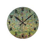 Manzano De Gustavo Klimt, arte Nouveau del vintage Reloj De Pared