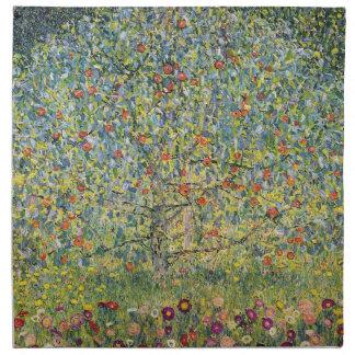 Manzano De Gustavo Klimt, arte Nouveau del vintage Servilletas