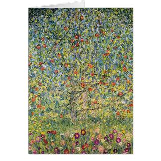 Manzano De Gustavo Klimt, arte Nouveau del vintage Felicitación
