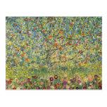 Manzano De Gustavo Klimt, arte Nouveau del vintage Tarjeta Postal
