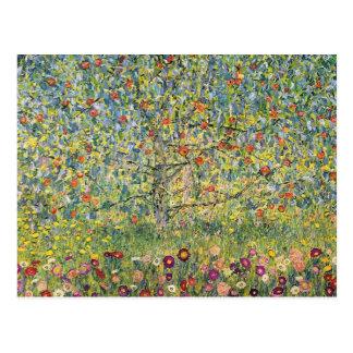Manzano De Gustavo Klimt arte Nouveau del vintage Tarjeta Postal