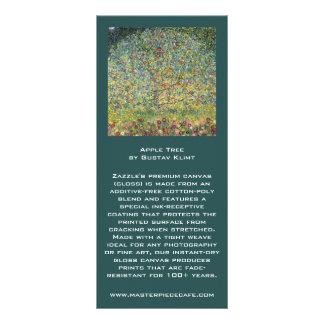 Manzano De Gustavo Klimt, arte Nouveau del vintage Tarjeta Publicitaria Personalizada