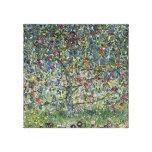 Manzano de Gustavo Klimt Lona Envuelta Para Galerías